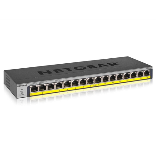 16PT POE/POE+GIGABIT UNMANAGED Switch