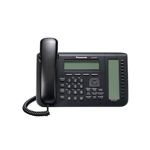 IP Systemphone, 3-line Display, black