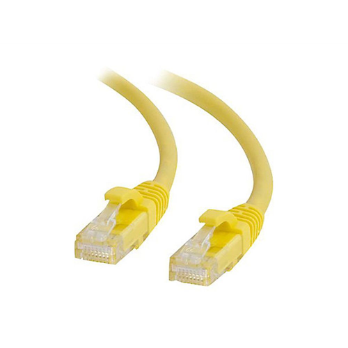 UTP patchcable yellow 0,50 m