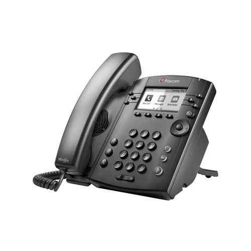 VVX 301 6-line Desktop Phone with HD Voice SKYPE FOR BUSINESS EDITION