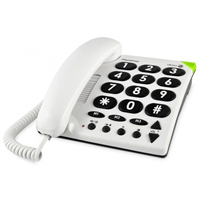 Doro EASY-311c WHITE BIG BUTTON PHONE