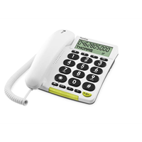 Doro EASY-312cs WHITE BIG BUTTON WITH DISPLAY
