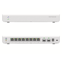 Insight GC110P 8-poorts smart cloud switch PoE